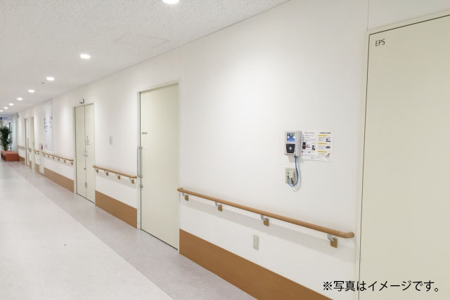 導入事例1 大阪府精神科病院の写真